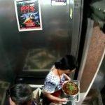 Mujer evita ser aplastada por ascensor defectuoso
