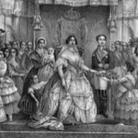 Irán censura un cuadro de Isabel II porque tiene mucho escote