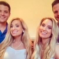 ¿Viendo doble? Gemelas que se casaron con gemelos quedaron embarazadas al mismo tiempo