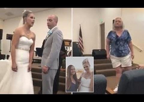Se viraliza un video en el que una madre interrumpe la boda de su hijo diciendo que no tiene defectos