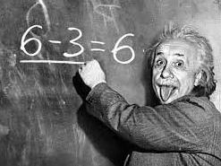 アインシュタイン 6-3=6