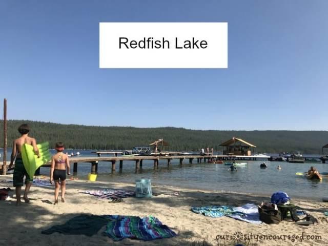 family travel in Central Idaho