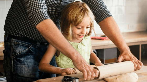 Cooking and Baking with Children During the Holidays - Safety Tips from DadSolo