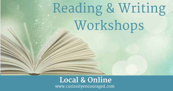 Local and Online Reading and Writing Workshops for Children, Teens, and Adults