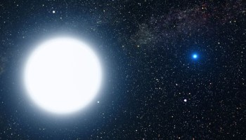 Stars (astronomical objects) Sirius A and Sirius B