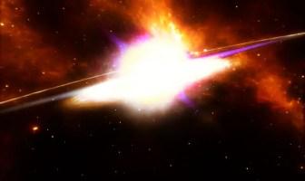 Biggest supernova explosion.
