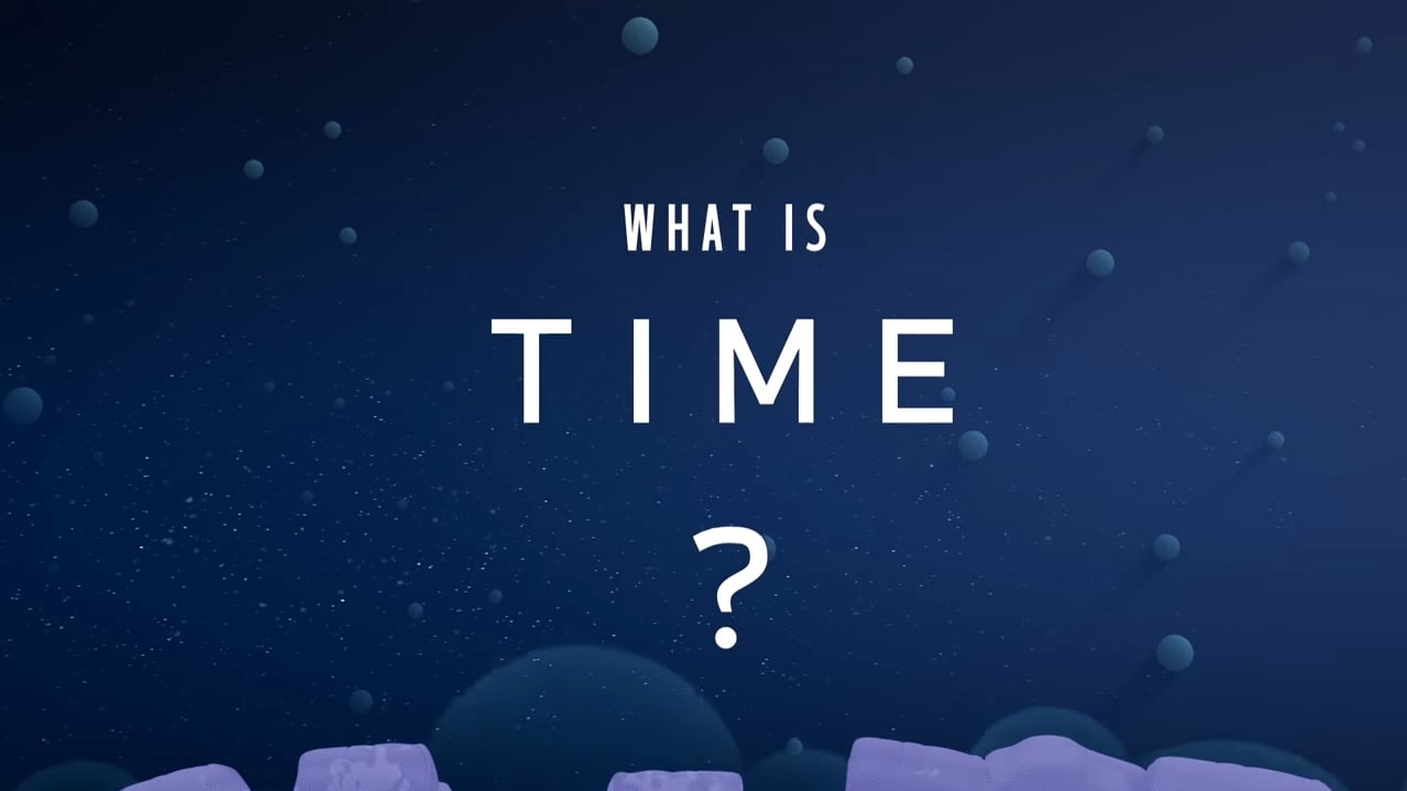 Text saying what is time?