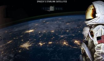 Spacex starlink satellites. Elon musk fast internet system.