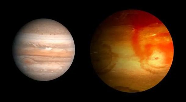 HAT-P-7b planet comperd to Jupiter.