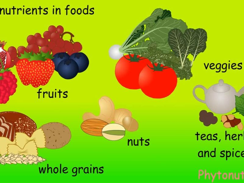 Phytonutrients plant chemicals.