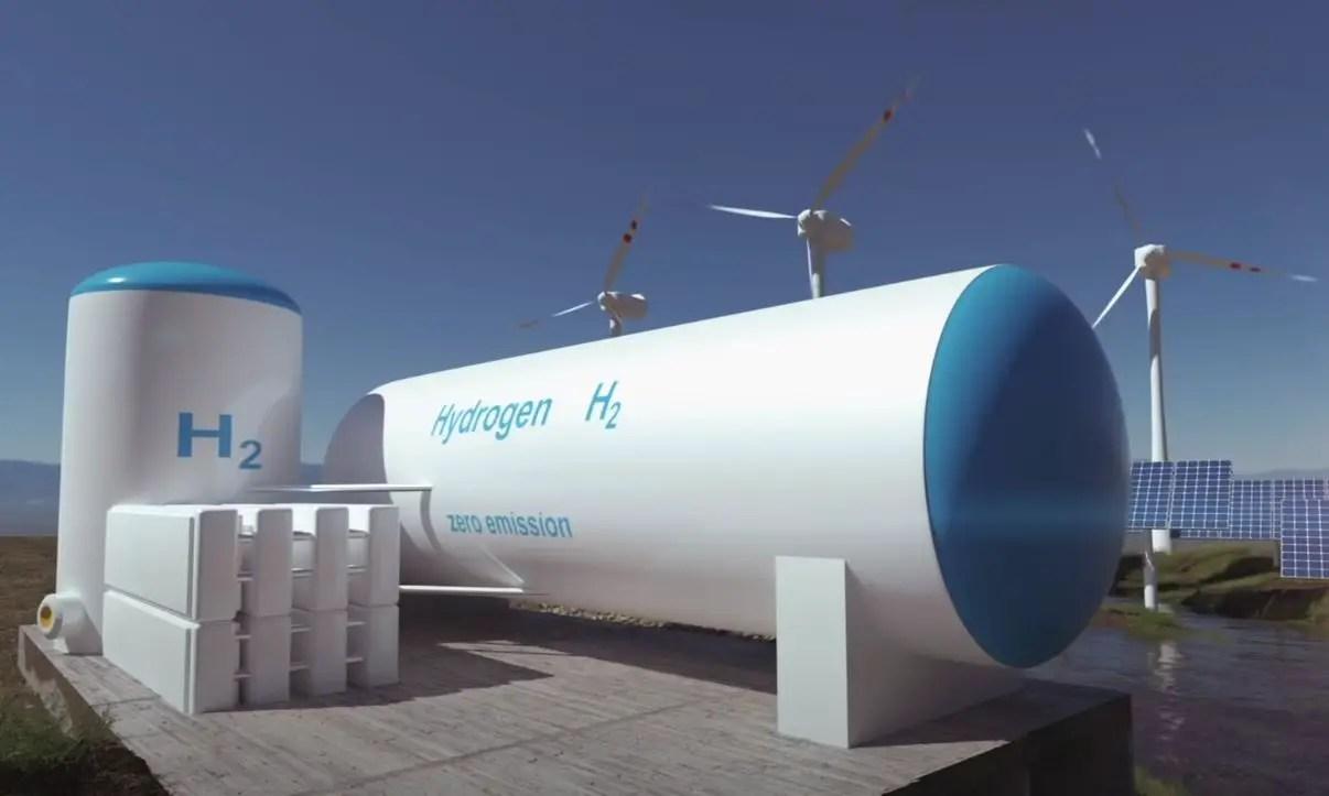 Green hydrogen economy.