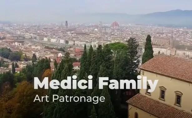 House of Medici history, art patronage.