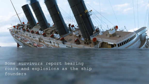 How deep is the ocean, RMS Lusitania sinking.