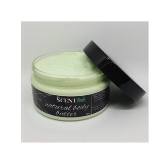 Coconut and lime body butter