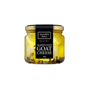 100 gram Meredith marinated goat cheese