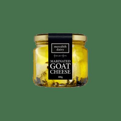 100 gram Meredith marinated goat cheese