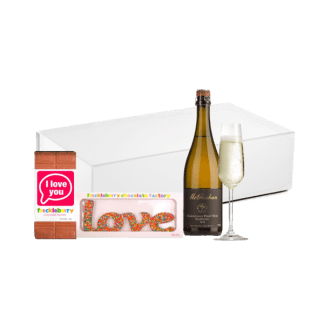 Sweet Sparkling hamper for mum on mothers day