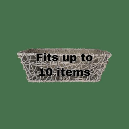 Wire crazy weave basket