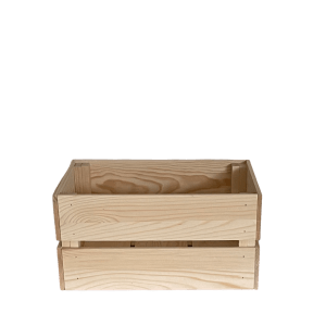 Wooden crate gift hamper