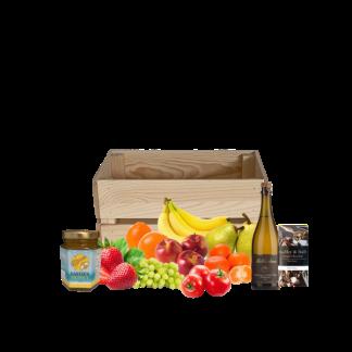 Fruit and Sparkling gift hamper