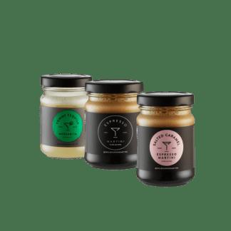 Melbourne Martini jars