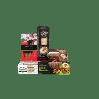 assorted varities of crackers