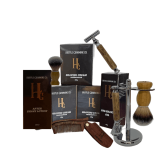 hustle Grooming shaving products