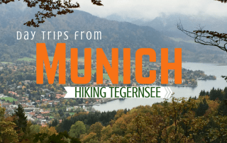 Day trip Munich to Tegernsee hiking in German Alps