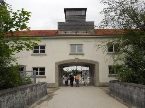 Day trip from Munich to Dachau entrance building