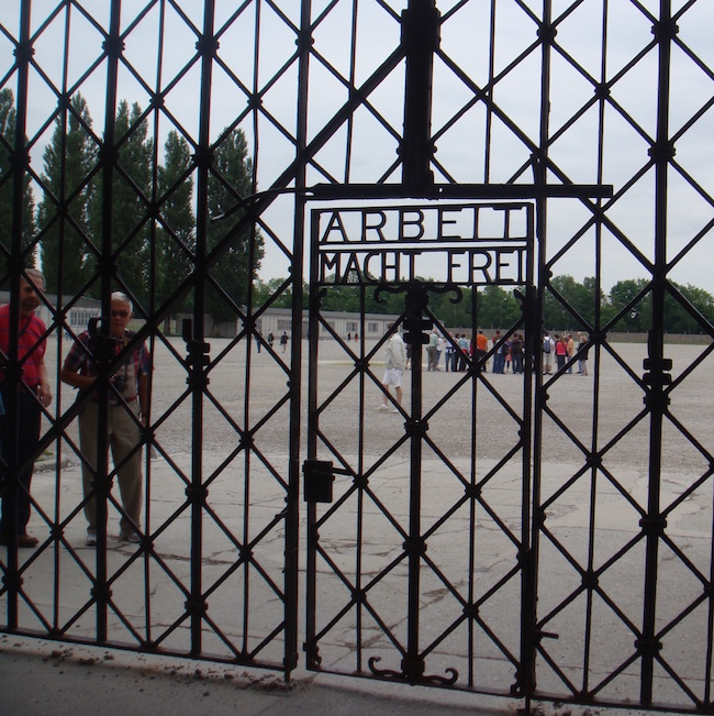 Day trip to Munich to Dachau Memorial Entrance