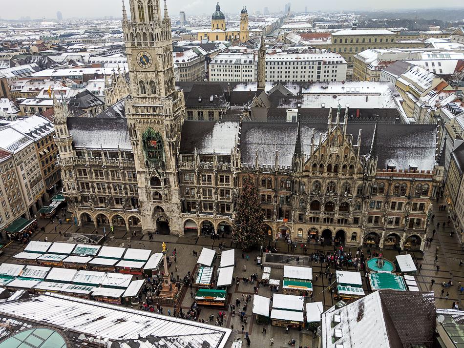Marienplatz Munich Christmas Market