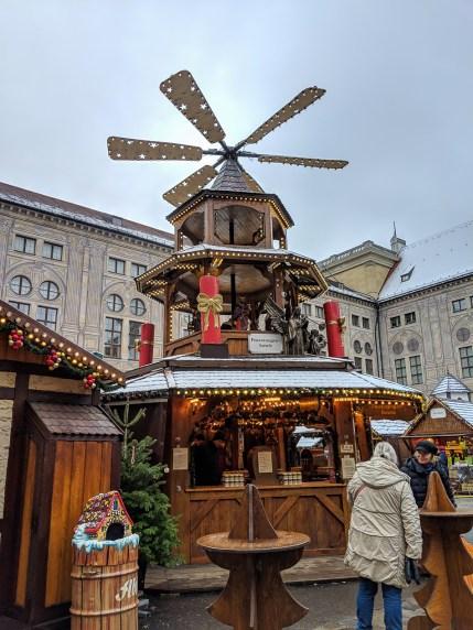 Munich Residenz Christmas Market