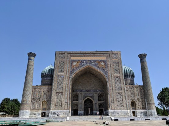 Registan Samarkand day
