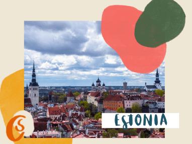 historic skyline of Tallinn