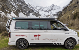 Switzerland campervan road trip and camping tips