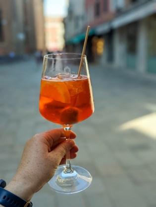 Aperol Spritz in Venice