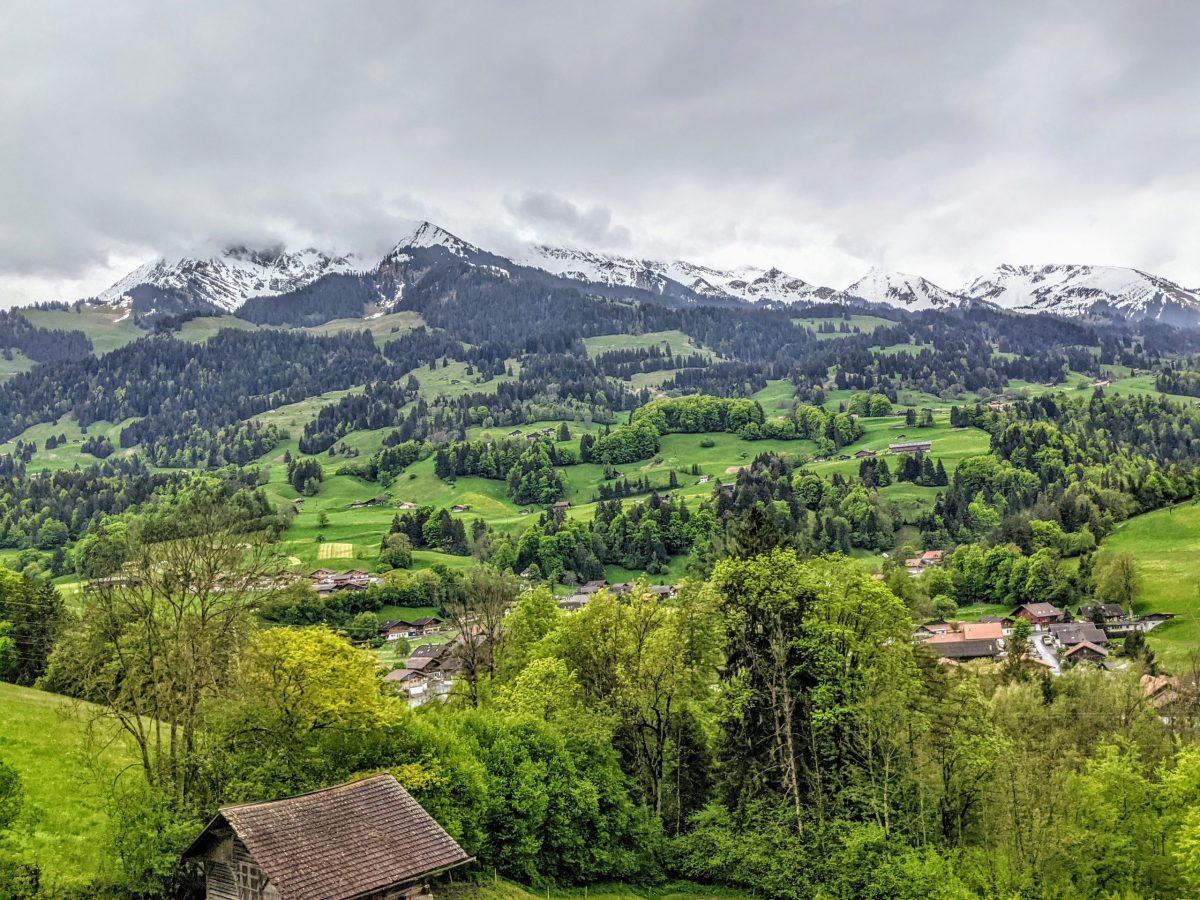 Regional Park Gruyère Pays-d'Enhaut cheese trails in Switzerland