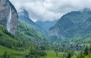 Switzerland Campervan and Road Trip Itinerary