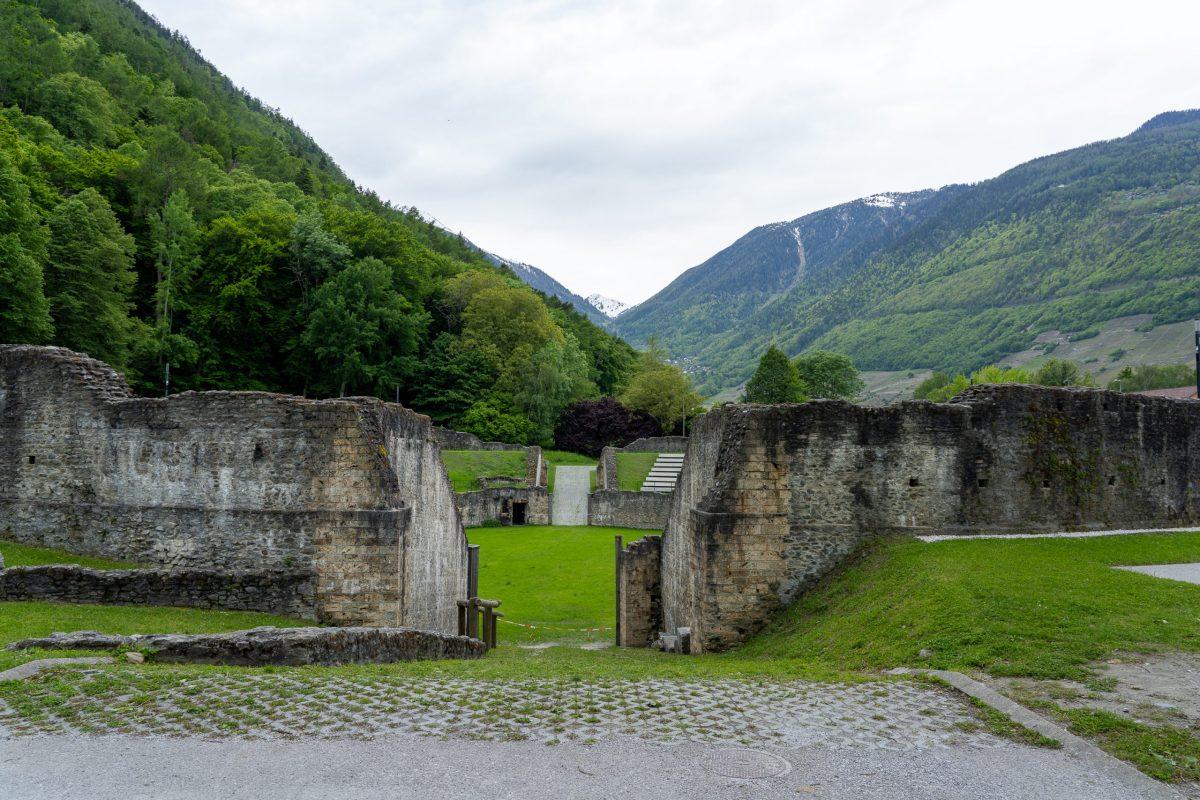 Romain amphitheatre Switzerland Road Trip