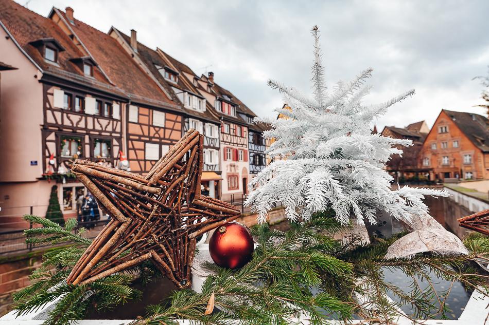 Colmar Christmas market decorations