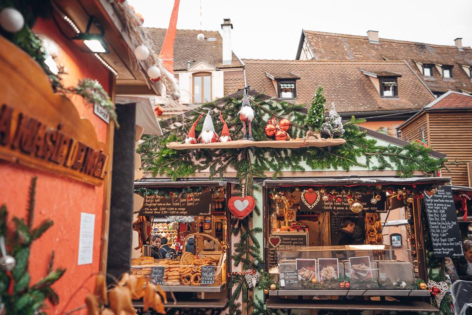 Colmar Christmas Market Place Jeanne d'Arc