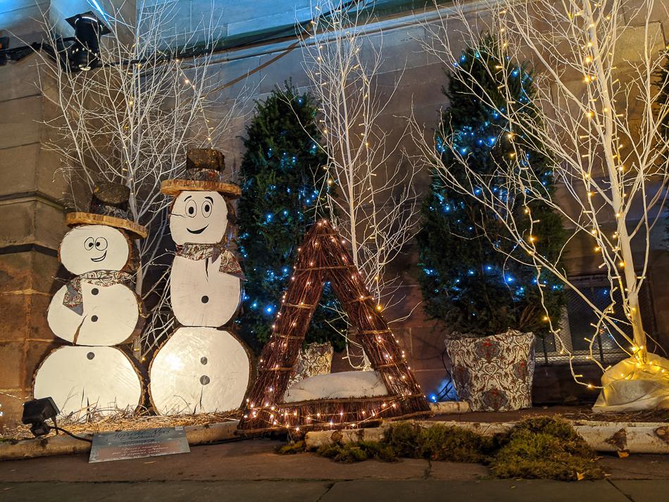 Mulhouse Christmas market snowman decorations