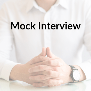 Mock Phone Interview Session
