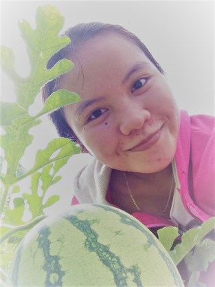 Aku dan semangka :))