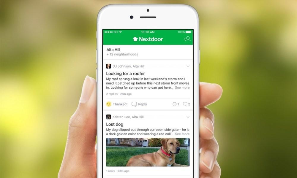 Nextdoor, la popular red social de vecinos, consigue 123 millones de dólares para su financiación