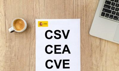 Cómo comprobar la autenticidad e integridad de un documento oficial con los códigos CSV, CEA o CVE