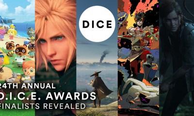 The Last of Us 2 y Ghost of Tsushima parten como destacados en la lista de nominados a los D.I.C.E. Awards 2021