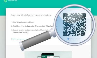 Cómo encontrar el código QR para entrar a WhatsApp Web