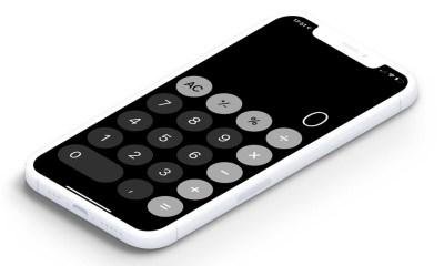 Cómo personalizar la calculadora de tu iPhone poniéndola en blanco y negro, invirtiendo los colores y más