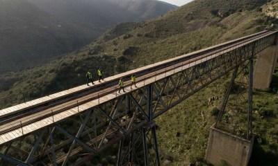 El Camino del Hierro, ingeniería ferroviaria recuperada para senderistas exigentes